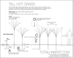 Tall Hot Grass