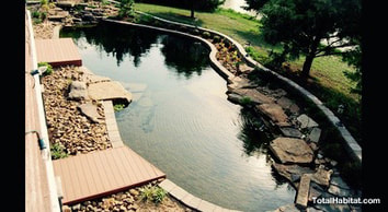 Oval Natural Swimming Pool/Pond